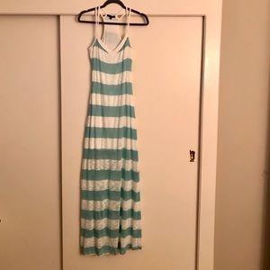 Tart Striped Maxi Dress Size M